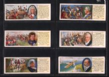 Trade Cigarette cards events in British History  1938